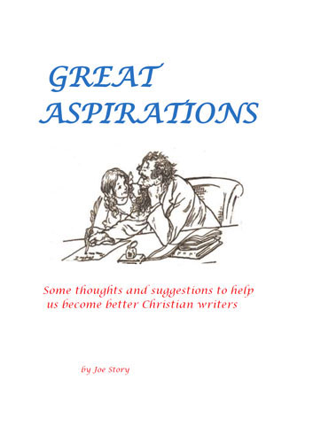 Great aspirations book cover