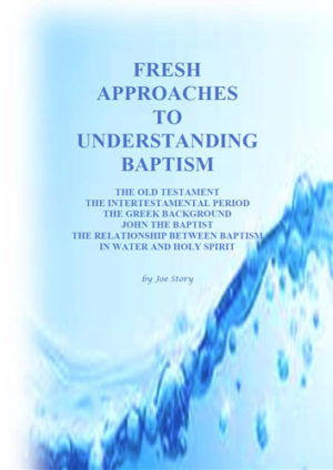 Fresh approaches to understanding baptism book cover