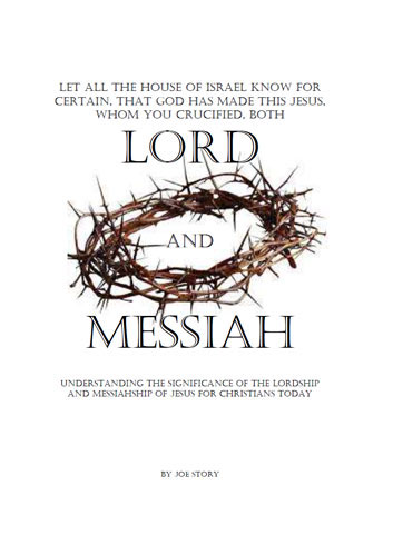 Lord and Messiah book cover