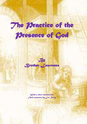 Practice of the presence of God book cover