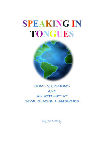 Speaking in tongues book cover